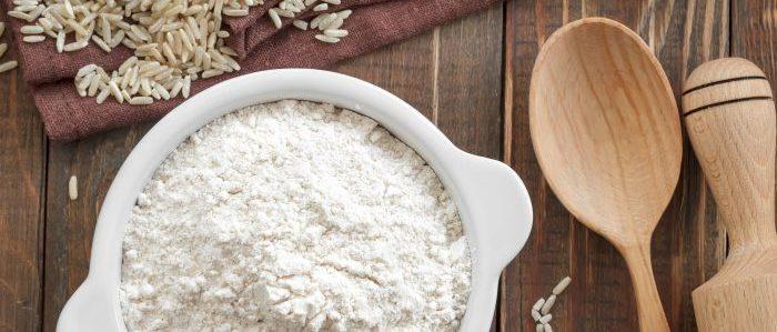Белая рисовая мука
