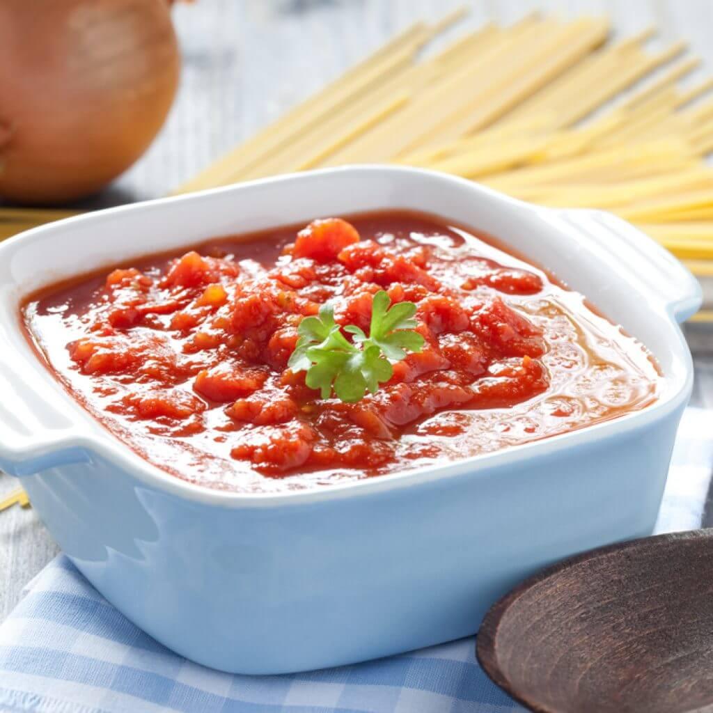 Овощной соус к макаронам