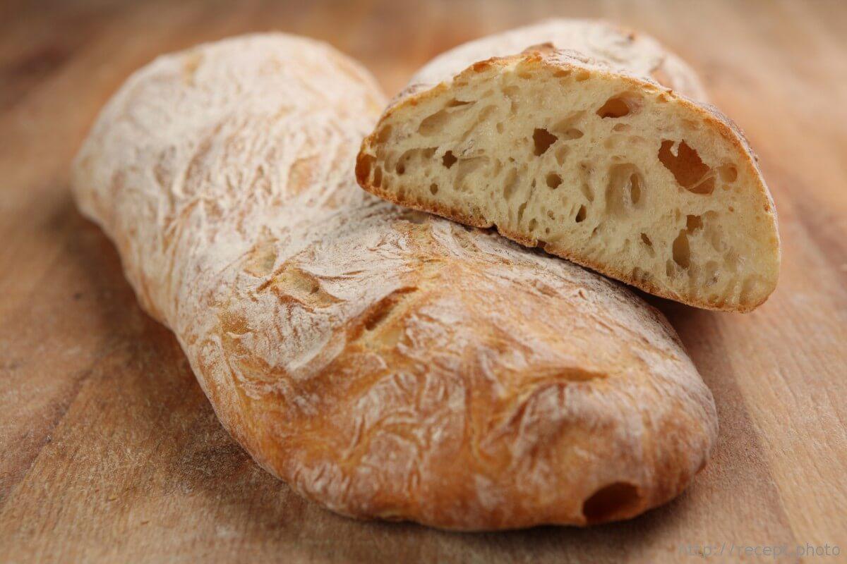 Как испечь бездрожжевую чиабатту все больше и больше на прилавках наших магазинов стало появляться хлеба