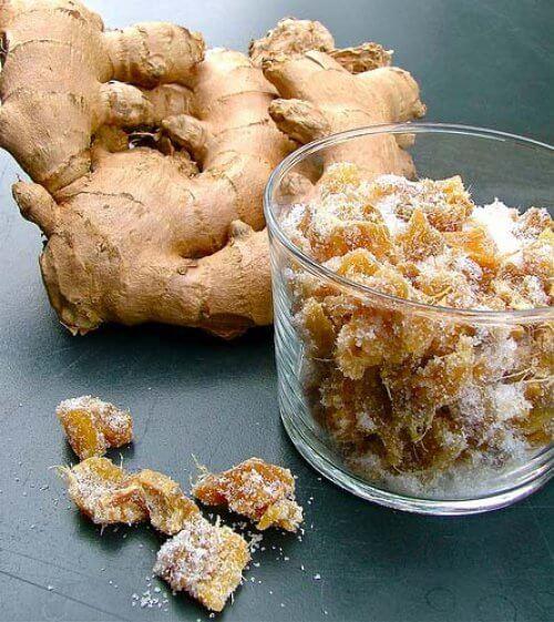 Имбирь вяленый в сахаре польза и вред