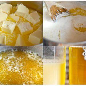 Домашнее приготовление масла гхи