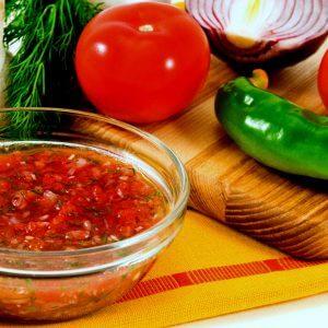 Мексиканский соус сальса