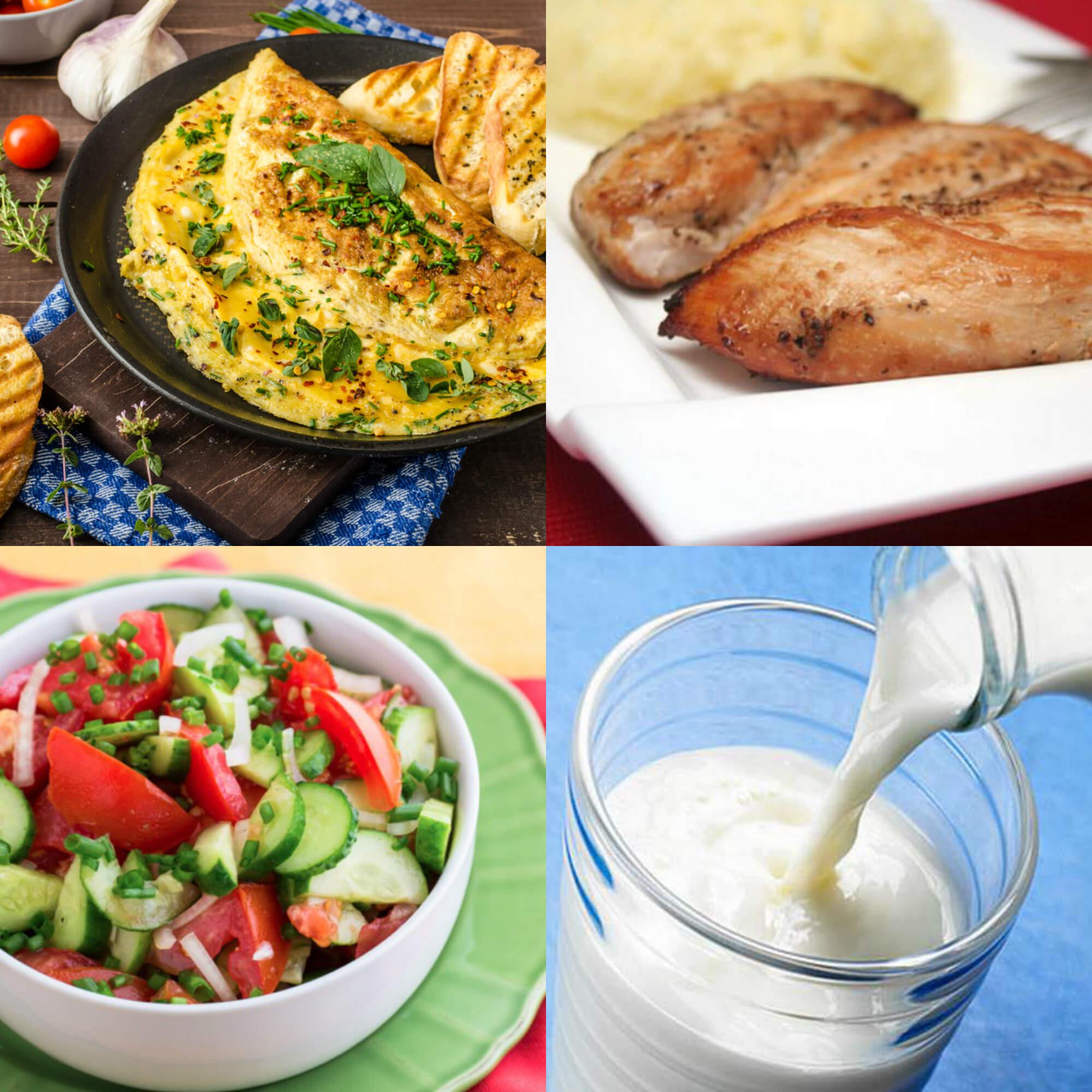 Овсяная диета меню на день