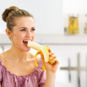 Употребление банана