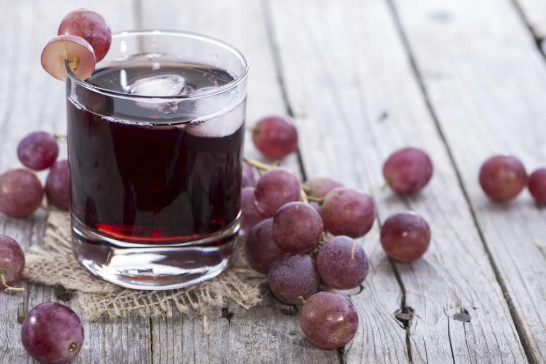 Виноградный сок: состав, калорийность и польза