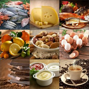 Запрещенные продукты при гипоаллергенной диете