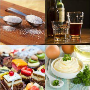Запрещенные продукты во время капустной диеты