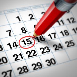 15 календарных дней