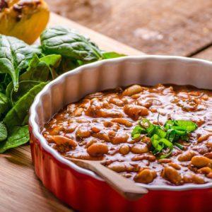 Блюдо из фасоли