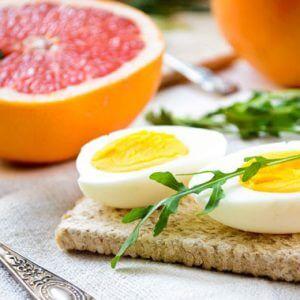 Диета с грейпфрутом и яйцом