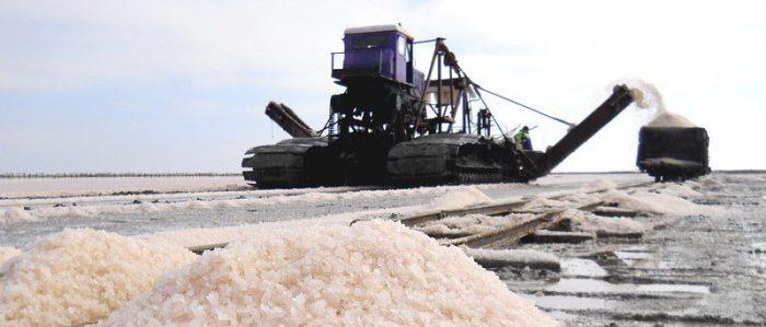 Добывание морской соли