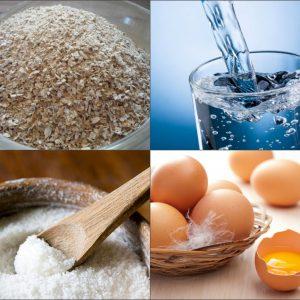 Компонентные составляющие яичной лапши