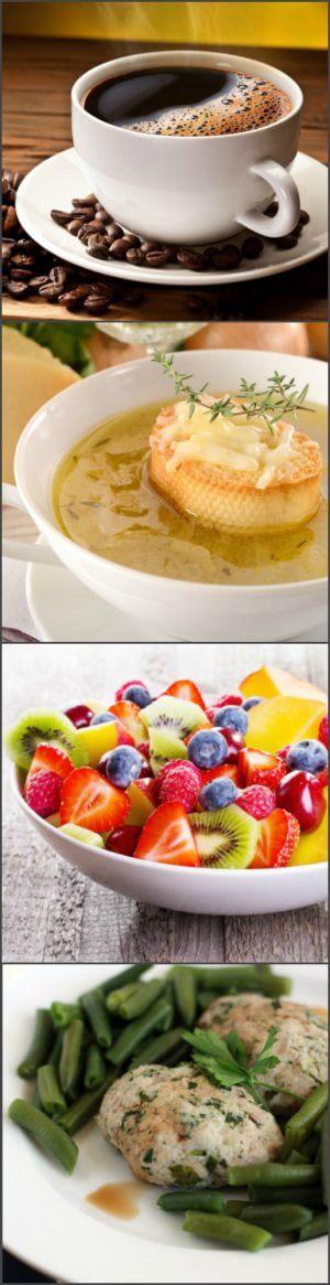 Меню французской диеты