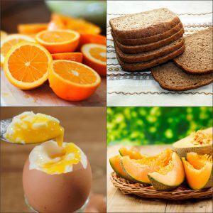 Меню трехдневной апельсиновой диеты