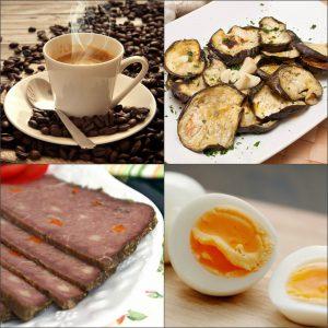Меню японской бессолевой диеты на третий день