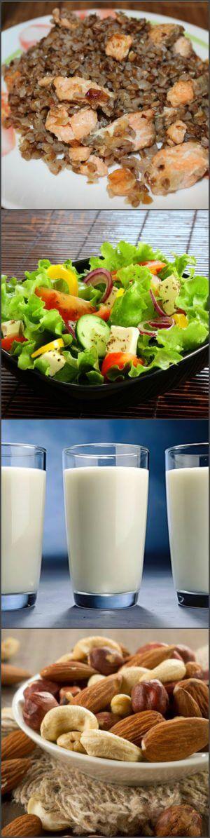 Рацион питания второго этапа диеты