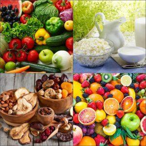 Разрешенные продукты при бессолевой диете