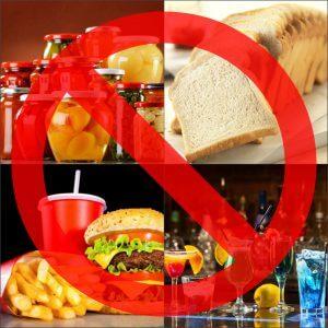 Запрещенные продукты при детокс диете