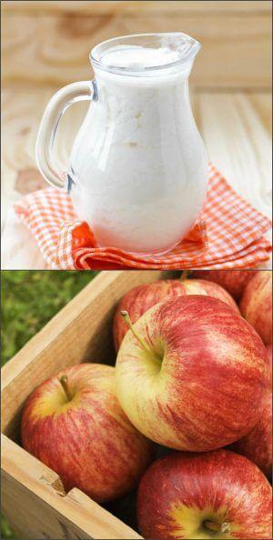 Кефирно-яблочный рацион