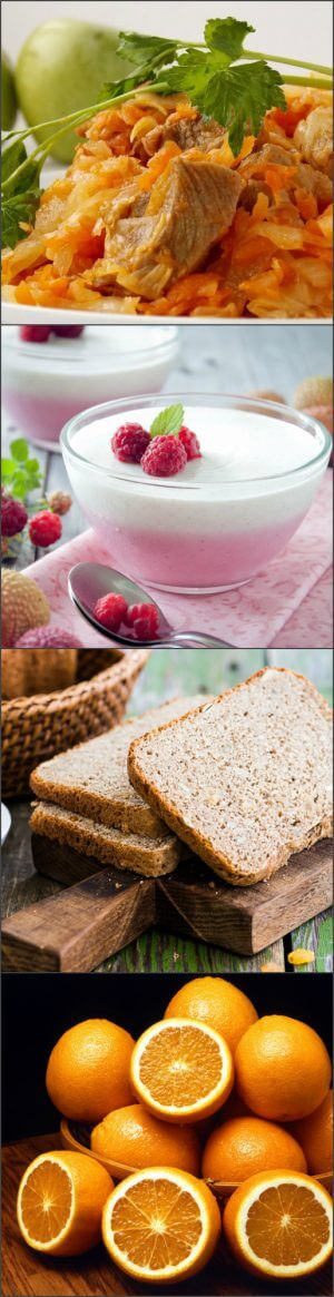 Меню хлебной диеты