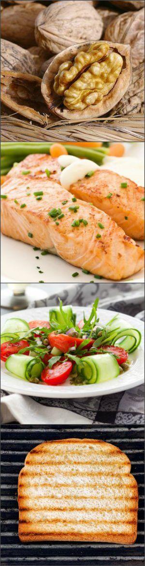 Меню семидневной рыбной диеты