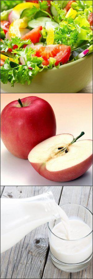 Меню яблочной диеты на пять дней
