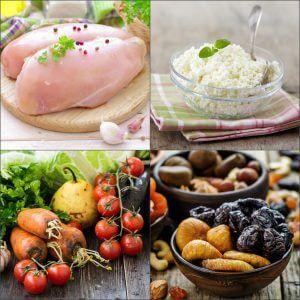 Разрешенные продукты при диете Долиной