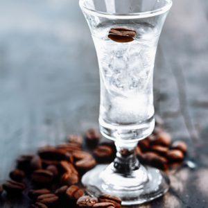 Самбука с кофейными зернами