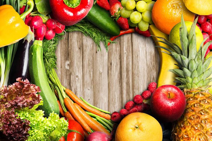 Похудеть на фруктах и овощах за неделю
