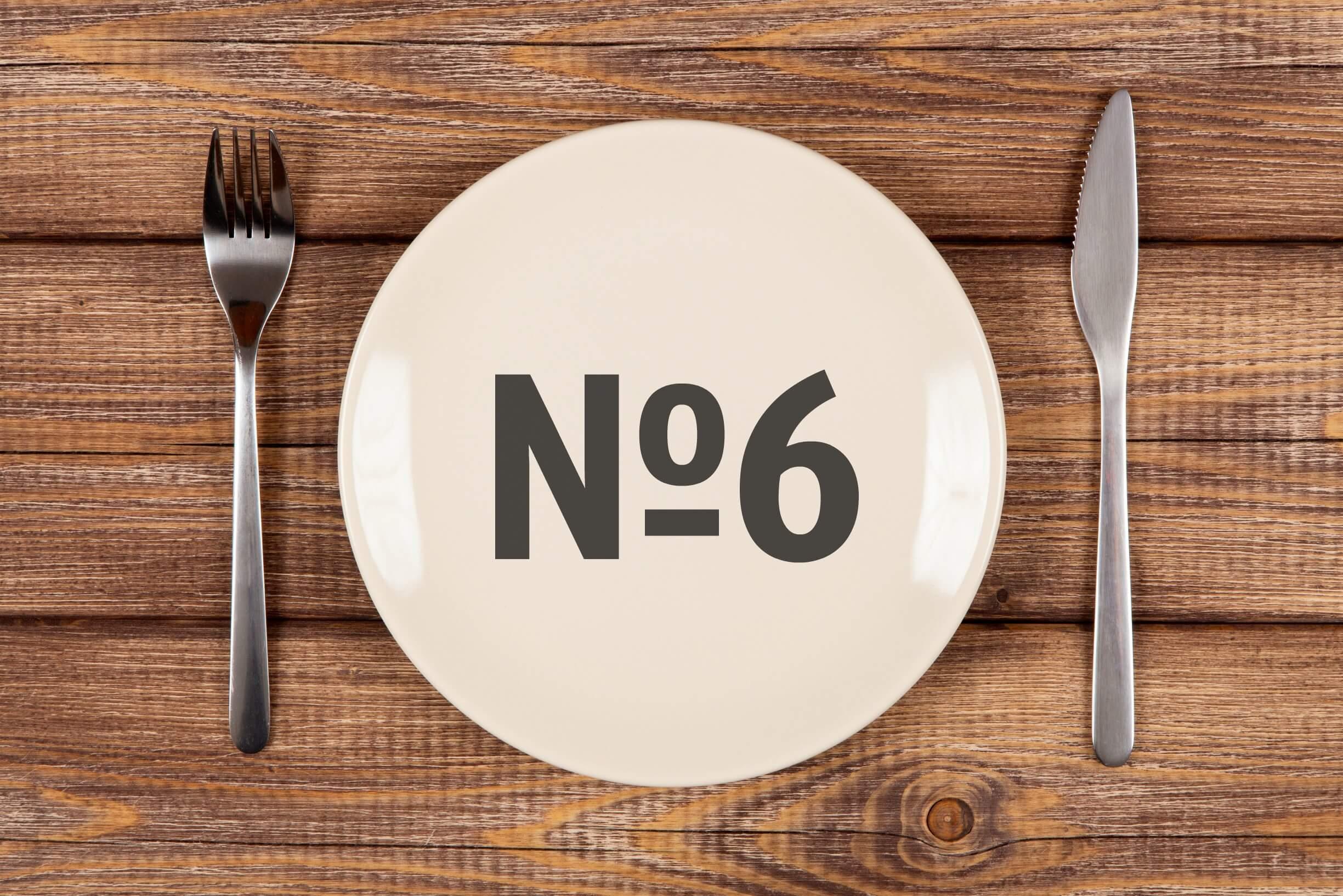 Диета №6 при подагре: принципы правильного питания. 6 диета при подагре: полное меню на неделю, рецепты