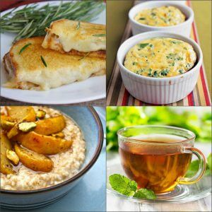Завтраки лечебной диеты №1
