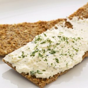 Хлебцы с крем-сыром