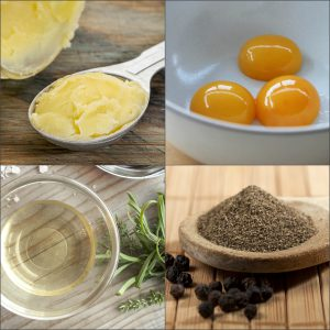 Ингредиенты для голландского соуса