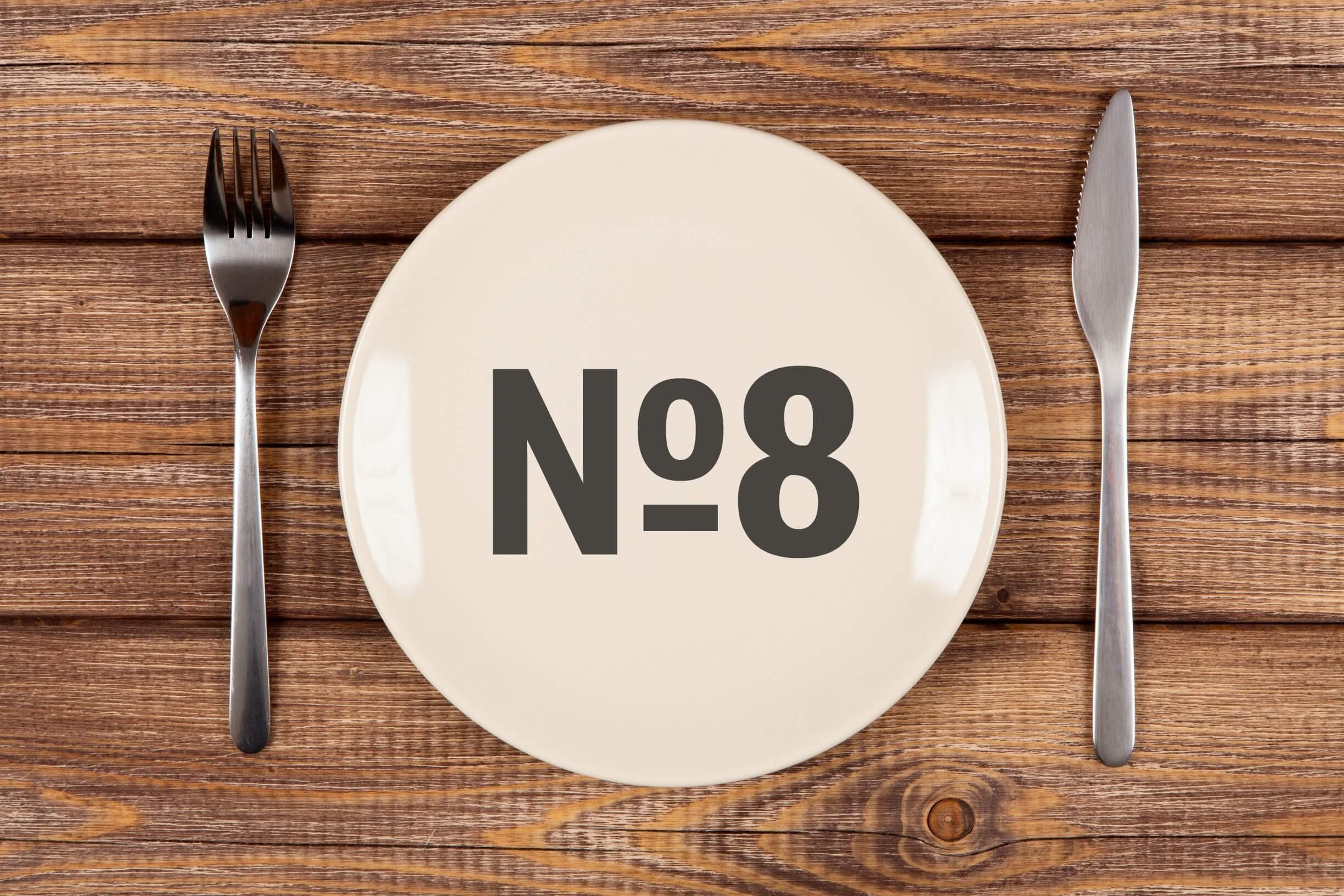 Диета стол №8 при ожирении: правила и меню на неделю