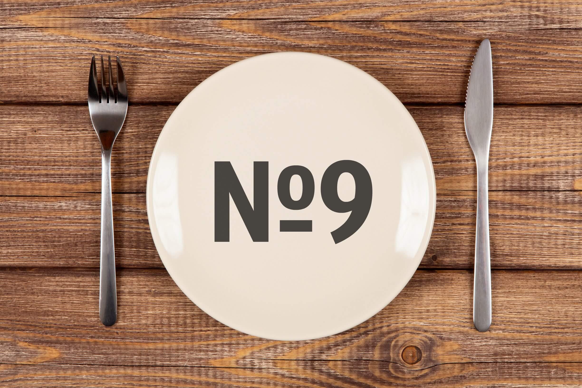 Девятый стол диета что можно