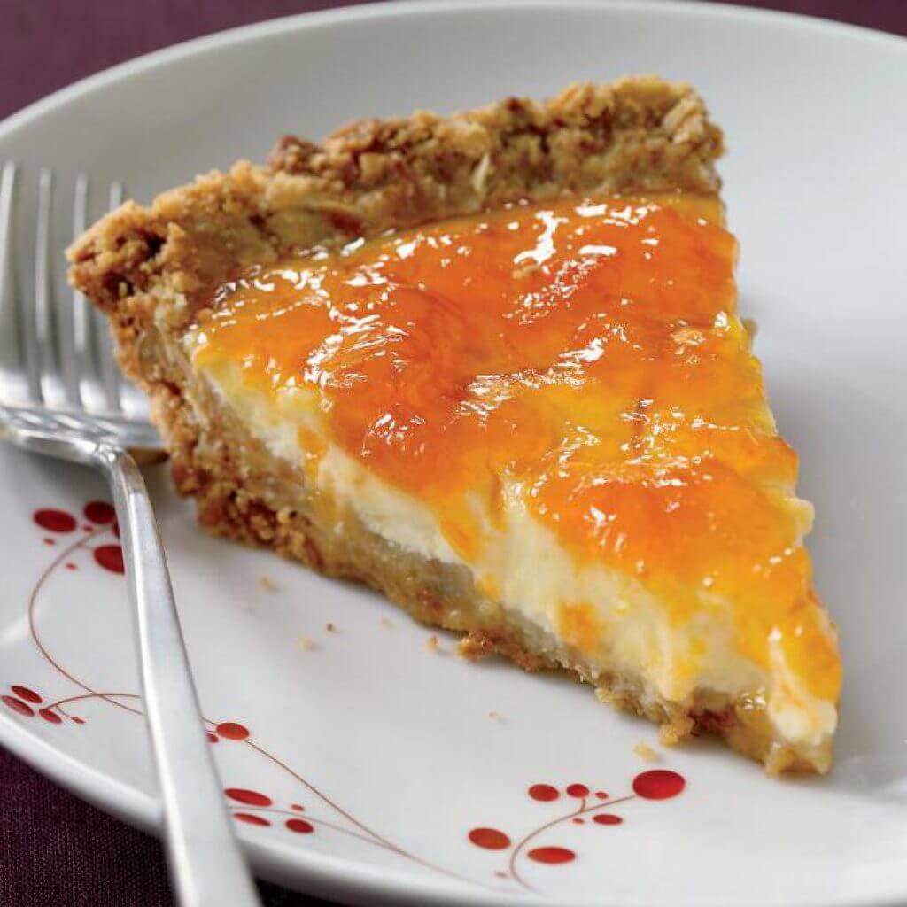 Пирог с абрикосовым джемом рецепт