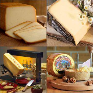 Полутвердые сорта швейцарского сыра