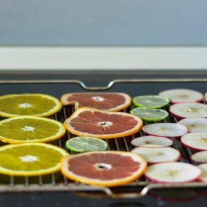 Приготовление фруктовых чипсов