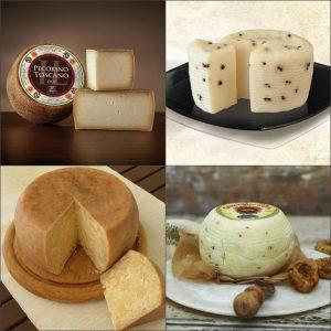 Разновидности итальянского сыра пекорино