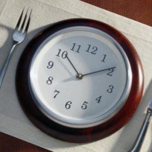 Трехразовый режим питания
