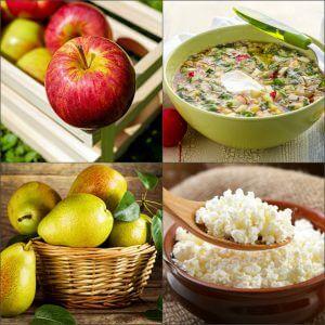 Дневной рацион питания диеты на окрошке