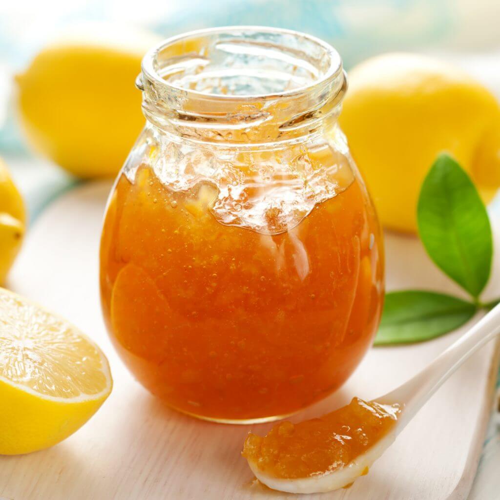 Лимонный джем рецепт
