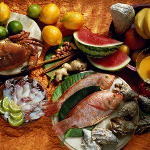 Меню греческой диеты
