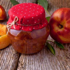 Персиковое варенье без косточек