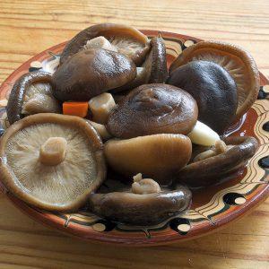 Приготовленные грибы