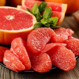 Розовый апельсин