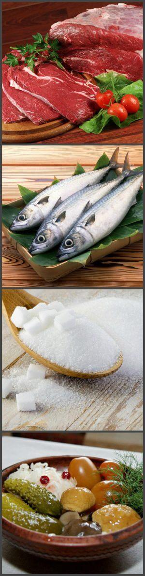 Запрещенные продукты при сыроедении