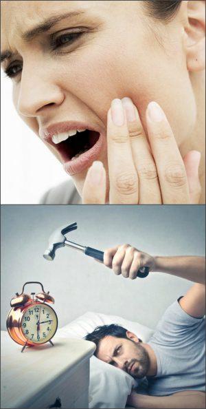 Зубная боль и бессонница