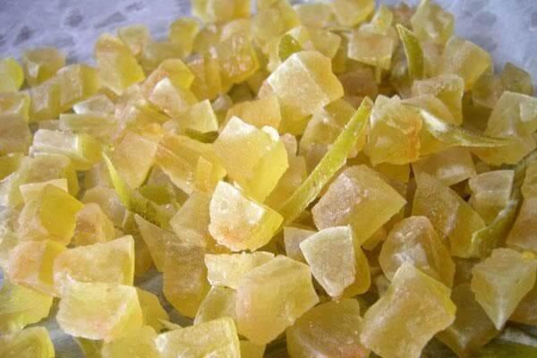 Как сделать цукаты из арбузных корок рецепт 620