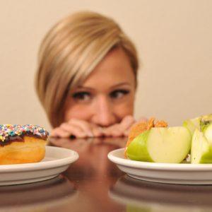 Девушка на диете